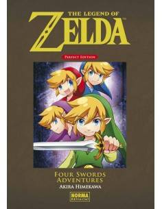 LEGEND OF ZELDA PERFECT EDITION 5 FOUR SWORDS ADVENTURE
