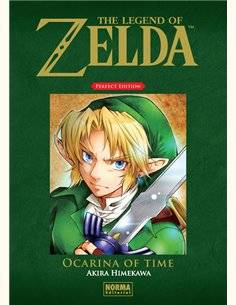 LEGEND OF ZELDA PERFECT EDITION 1 OCARINA OF TIME