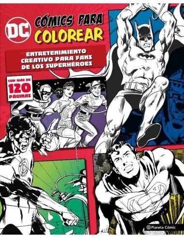 DC COMICS PARA COLOREAR SUPERHEROES