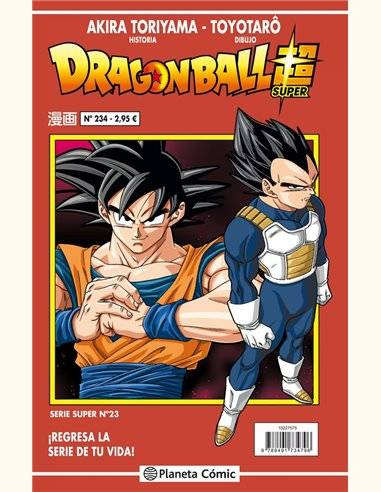 DRAGON BALL SERIE ROJA 234 (VOL5)