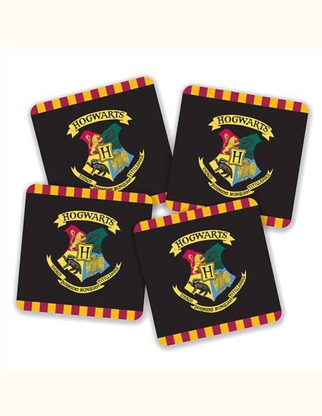 Pack posavasos Hogwarts Harry Potter