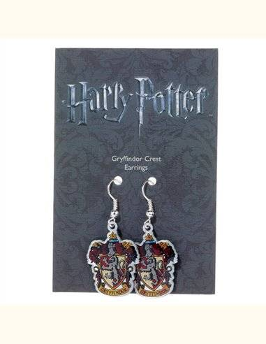 Pendientes Gryffindor Crest Harry Potter