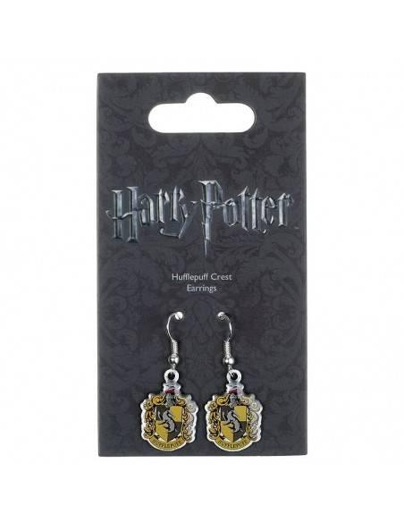 Pendientes Hufflepuff Crest Harry Potter