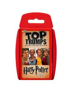 Juego cartas Harry Potter y el Caliz de Fuego Top Trumps