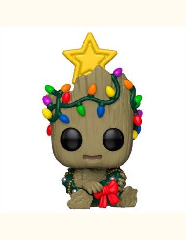 Figura POP Marvel Holiday Groot