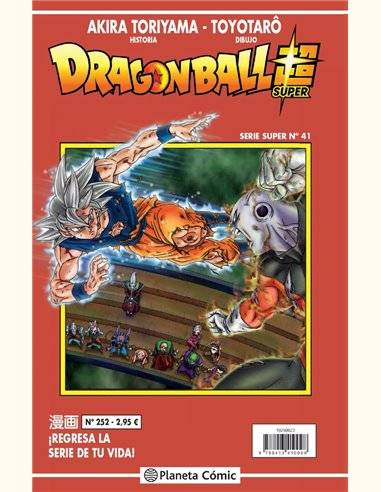 Dragon Ball Serie Roja nº 252