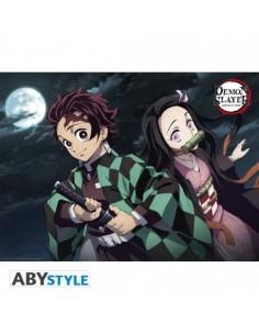 """DEMON SLAYER - Póster """"Tanjiro & Nezuko"""" (52x38)"""