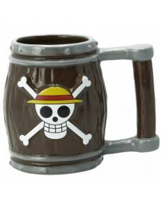 Taza 3D One Piece Barril