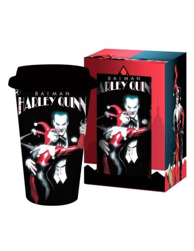 Taza viaje Harley Quinn Joker DC Comics