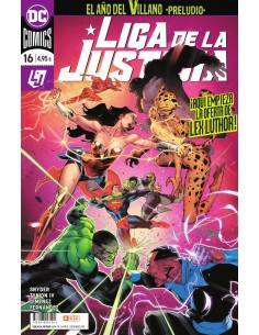 Liga de la justicia núm. 94/16
