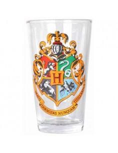Harry Potter Vaso de Cristal Hogwarts