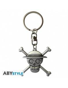 One Piece Llavero 3D Skull...