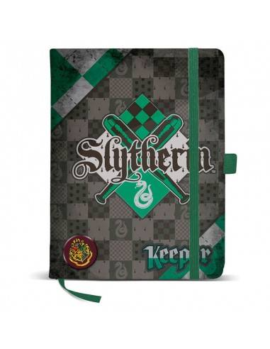 Diario Harry Potter Quidditch Slytherin
