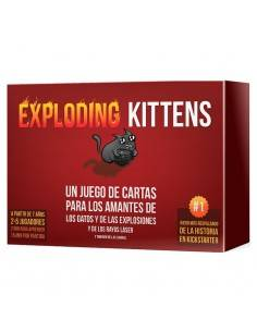 Juego Exploding Kittens