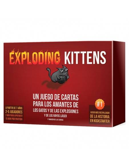 Compra Juego Exploding Kittens 3558380050315