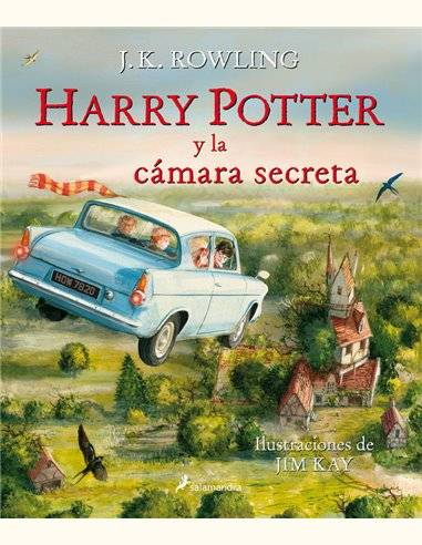HARRY POTTER LA CAMARA SECRETA ILUSTRADO