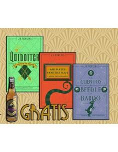 Harry Potter Pack libros + REGALO Cerveza de Mantequilla